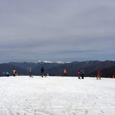 子連れスキー in リバウェル井川スキー場